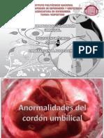 Anormalidades Del Cordon Umbilical