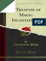 A Treatyse of Magic Incantations