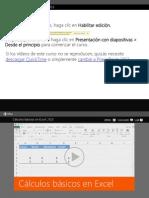Calculos Basicos en Excel 2013