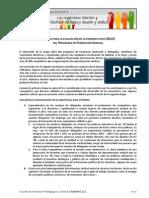 Informe Devolucion Primer Etapa Formacion Sindical