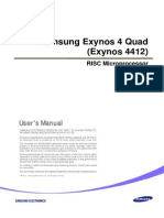 Exynos 4 Quad User Manaul Public REV100-0