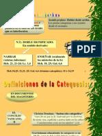 2.1 Identidad de la Catequesis a partir de los Documentos del Magisterio de la Iglesia