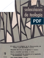 Selecciones de Teología N 9
