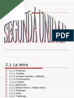 Lengua Unid II