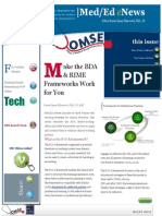 UA OMSE Med/Ed eNews v3 No. 01 (AUG 2014)