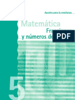 Fracciones y Decimales