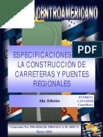 Especificaciones Para La Construcciónde carreteras