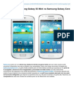 Comparativa Samsung Galaxy S3 Mini vs Samsung Galaxy Core