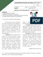 Paralela Da 1ª Unidade - 6ª Série - 2013