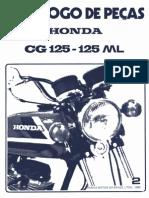 Manual de Serviço Honda CGML80