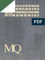 Enciclopedia Arheologiei Si Istoriei Vechi a Romaniei. Vol. 3. M-Q