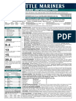 07.29.14 Game Notes
