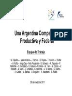 Argentina Fundacion Mediterranea