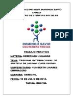 Universidad Privada Domingo Savio Dd Hh