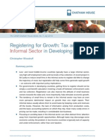 2013 - Registering for Growth - Tax and Informal Sector
