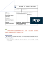 Practica 9 Tunnel IPsec Over Vyatta Router Linux Con Certificados x509