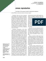 ASRM - Posthumous Reproduction - 2004