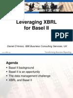 XBRL for Basel II