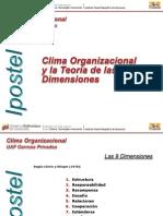 Clima Organizacional y la Teoría de las 9 Dimensiones (PPT) (V2).pptx