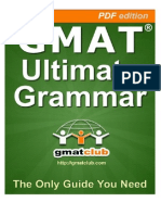 GMAT Club Grammar Book