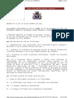 Decreto Nº 23525-2012-Incêndio de Pânico