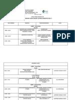 Programação Capacitação de Tutores 2014.2