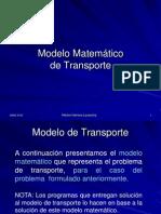 Clase 2 - Modelo Matemático de Transporte y de Asignación.ppt
