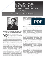 2011 Issue 1 - The Prima Facie Acceptability of Postmillennialism (Part 2) - Counsel of Chalcedon