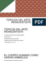 Tópicos del Arte Renacentista