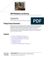 IBGP Multipath Load Sharing Irg_multi_load