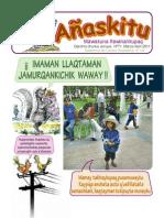 Revista infantil Añaskitu 71