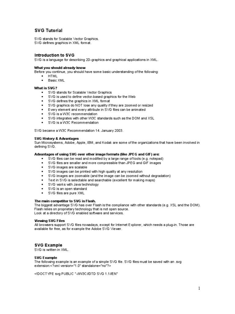 SVG Tutorial | Html Element | Html