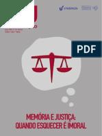 Cadernos Ihu Em Formacao_Memória e Justiça