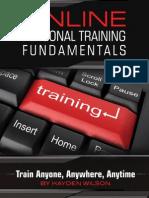 Final Online Personal Training Fundamentals Hayden Wilson of PTProphet