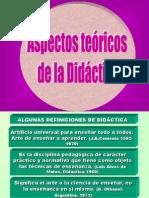 Aspectos Teoricos de La Didactica
