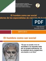 Hombre Como Ser Social