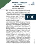 r. Decreto 1308-2011 Proteccion Fisica Instalaciones Nucleares