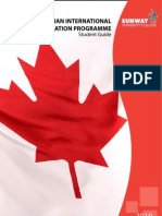 Sunway University College Canadian International Matriculation Programme 2010 Student Guide