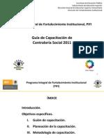 25 Mar 2011 Guia de Capacitacion PIFI Metodologia
