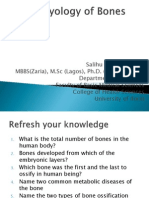 Embryology of Bones MUSCULOSKELETAL