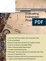 Evaluating System Proposals (Cash Flows and Other Topics in Capital) Budgeting