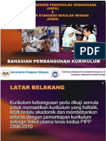 penjelasan umum kurikulum standard prasekolah kebangsaan & kurikulum standard sekolah rendah