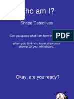 Shape Detectives