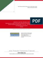Optimización de Un Medio de Cultivo Para La Producción de La Levadura Pichia Onychis (Lv027)