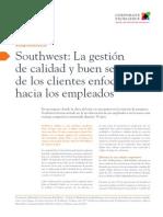 C01 Southwest La Gestión de Calidad y Buen Servicio de Los Clientes Enfocado Hacia Los Empleados