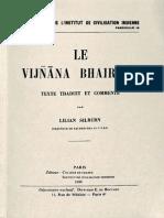 Lilian Silburn - Le Vijnana Bhairava, texte traduit et commenté (1961).pdf