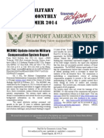 Vets & Military Families Monthly News Summer 2014