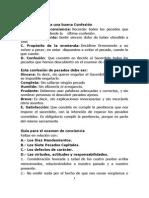 Guía Para El Examen de Conciencia-Annotated