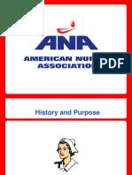 american nursing association presentation