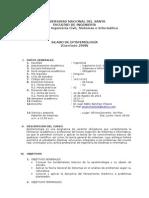 Silabo Epistemologia - Sem. 2013- i